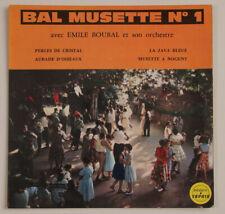 disco Emile Boubal BAL MUSETTE n 1- 45 giri -Saphir LDP 5041