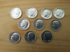 New listing [Lot of 10] Roosevelt Dimes 1947-1964