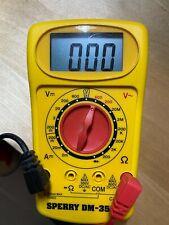 Sperry Model Dm-350A Multimeter