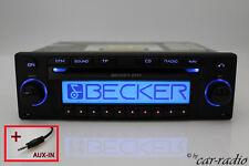 Becker DTM BE7815 Navigationssystem AUX-IN Klinkestecker Doppeltuner Autoradio