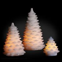 Battery Christmas Tree Flameless LED Lights Candle Xmas Light Candles Kidsafe