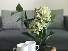 NEW! like Pottery Barn almost real hydrangea flower triple bouquet!