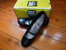 RoC Ladies Leather Work or School Shoe Black Size 8b