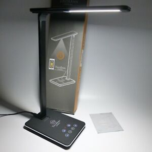 TOUCHDOWN LED LAMP WITH WIRELESS CHARGING FUNCTION EX SHOP DISPLAY UNIT BLACK