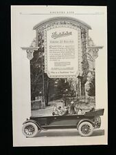 New ListingE Studebaker Series 20 Big -Six 1920 Ad 14 x 9 1/4