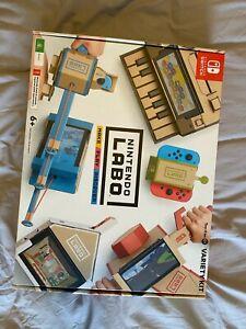 Nintendo Labo Variety Kit 01 Brrand New Sealed Never Used