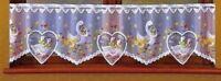 """Kitchen Curtains Goose  Cafe net 20"""" 50cm  Drop x 80"""" Window Decor"""