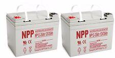 NPP 12V 35Ah Electric Wheelchair Scooter Deep Cycle AGM SLA U1 Battery Pack 2