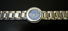 Ladies' Authentic GUY LAROCHE 173.28 STAINLESS STEEL BLUE DIAL Swiss Watch