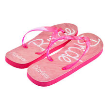 57fa45fba9c8ce Personalised Bride Script Ladies Flip Flops with First Name UK 6-8 XFFS110