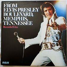 ELVIS PRESLEY - From Elvis Presly boulevard - LP VINYL 1980 NM / VG+ CONDITION