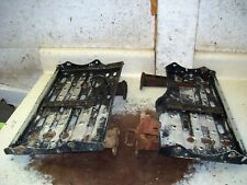 YAMAHA 600 GRIZZLY ATV OEM FLOORBOARDS WITH BRACES  H1918