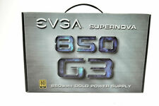 EVGA SuperNOVA 850 G3 850W Power Supply PSU Fully Modular 80 Plus Gold