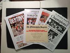 1980 Phillies Baseball World Series Champions - 10/22/80 Philadelphia Inquirer