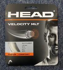 Head Velocity MLT 16 Gauge 1.30mm Tennis String NEW Natural