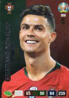 PANINI ADRENALYN XL UEFA EURO 2020 CRISTIANO RONALDO CAPTAIN CARD - PORTUGAL
