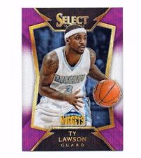 Ty Lawson 2014-15 Panini Select, Purple & White Prizm, Basketball Card