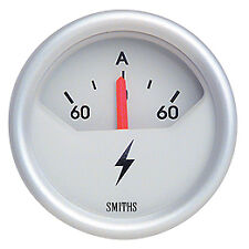 Smiths Telemetrix Ammeter Gauge 52mm TAM1-0052-06