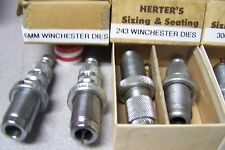 hERTER rELOADING DIES **** YOUR CHOICE OF ONE DIE SET****UPdated