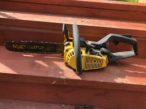 McCulloch 330E  Chainsaw Made in Japan 30cc good working condition 14 inch Bar