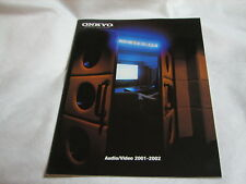 Onkyo Katalog Audio/Video 2001-2002 z.B. TX-DS989 Integra