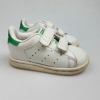 Boy's Girl's ADIDAS 'Stan Smith' Sz 5K Shoes White VGCon Lthr | 3+ Extra 10% Off