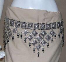 Kuchi Banjara Tribal BELT Gypsy Boho Belly dance scarf skirt Costume Jewelry