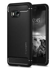 Spigen Rugged Armor Schutzhülle Case für HTC U11 stoßfeste Handyhülle black