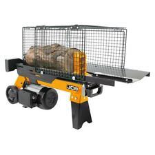 JCB Holzspalter liegend 4 Tonnen 230V bis 250mm Ø 370 mm