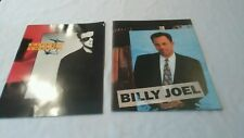Billy Joel  River of Dreams and Storm Front Book Concert Program vtg w/photos