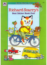 Richard Scarry coloring book RARE UNUSED