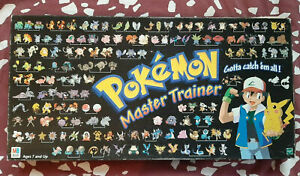 Pokemon Master Trainer Board Game 1999 - Replacement Pieces - Chips and Cards