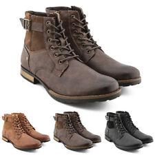 Stivaletti uomo Gianni Shoes stivali anfibi scarponcini scarpe polacchini Y30
