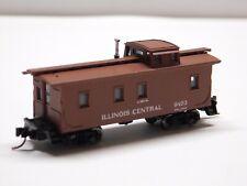 N Scale - Micro Trains Line Illinois Central Caboose Train Car #9403