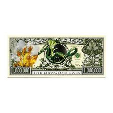 1 Dragon fantasy paper money