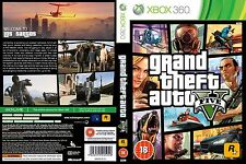 GTA V Xbox 360 disco juego de instalación NO1 PAL GTA V Grand Theft Auto cinco 5