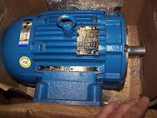Weg 5 Hp Xp Ac Electric Motor 3505 Rpm 208 230460 Vac 00536xt3e184tc Tefc 184tc
