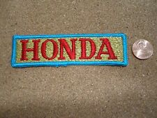 Vintage Honda Patch New Old Stock