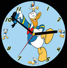 Donald Duck CD Clock, free stand can be personalised
