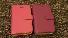 For iPhone 3 3G 3S Premium Stylish PU Leather Wallet Book Pouch Phone Case Cover