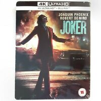 JOKER / Limited Steelbook - 4K + Blu-ray - OOP - Phoenix - Zavvi - audio ITA