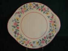 "Royal Albert Marguerite 10 5/8"" Handled Cake / Cookie Plate"