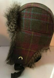 Joule lifestyle  women's / mens  shearling trapper hat one size (B5)