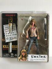 NECA KILL BILL volume 2 BEATRIX KIDDO action figure Tarantino reel toys NEW