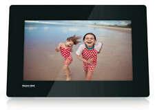 """PHILIPS PhotoFrame digitale SPF4610/12 NERO  10""""  25,4 Cm colori brillanti led"""