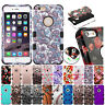 FOR APPLE IPHONE 6S 6 PLUS TUFF CASE HYBRID IMPACT PROTECTOR RUBBER COVER+STYLUS