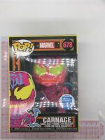 Funko Pop! Marvel: Carnage Black Light #678 Exclusive G04