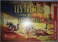 jeu de société Les trésors des cités perdues Jeux nathan complet TBE