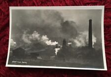 Postcard Real Photo RP Whiff from Hanley Staffordshire Industry Pollution 1900s