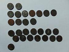 28 Münzen Deutsches Reich 5 Pfennig 1917A 1918A 1920A 1921A 1921E, Eisen, KM#19